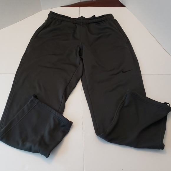 Nike Other - Nike Thermafit Black Mens Sweatpants Large